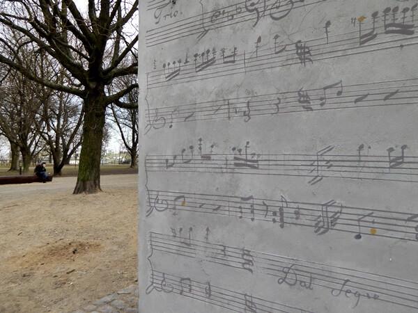 beim Chopinmuseum warschau