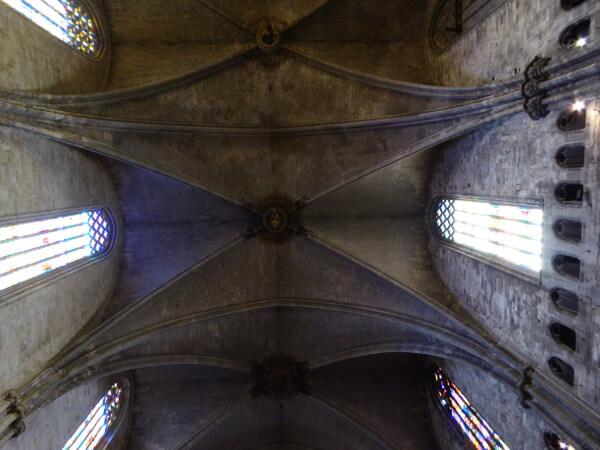 bogen Kathedrale Girona gotisch