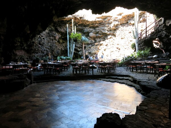 cafe jameos del agua höhle Lanzarote