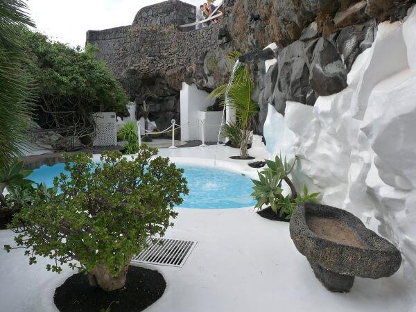 cesar Manrique Haus Lanzarote Garten
