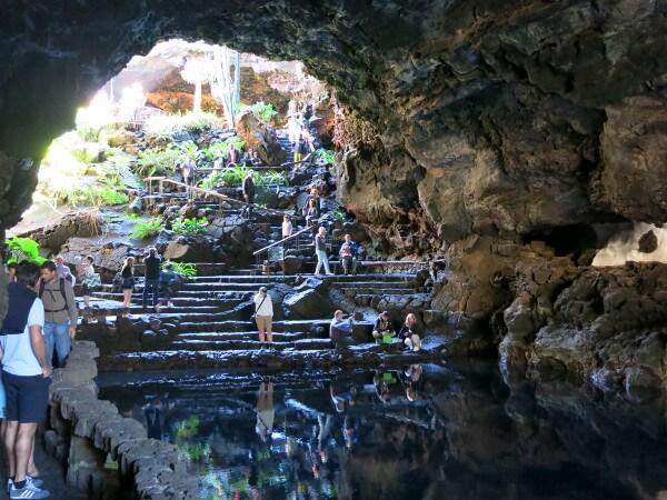 jameos del agua lanzarote höhle manrique