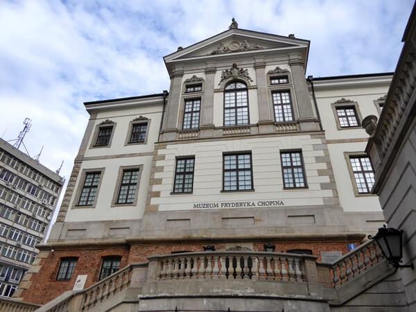 museum frederic chopin warschau