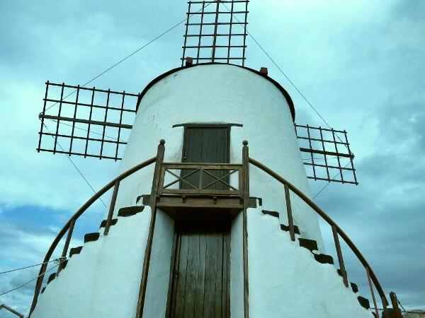 windmühle kaktusgarten