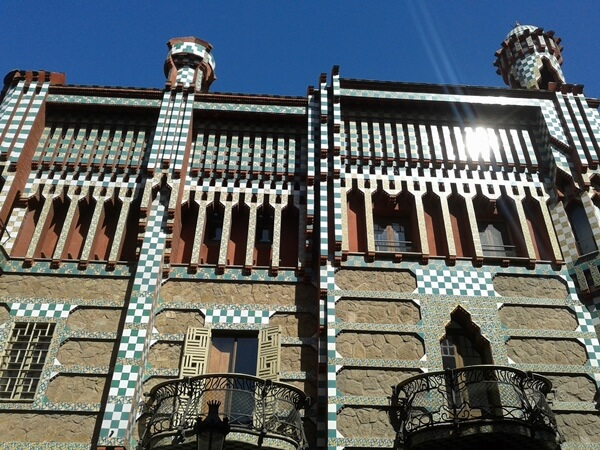 Barcelona Casa Vicens Gaudi maurisch