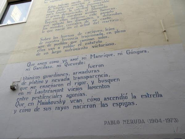 Gedichte Pablo Neruda Muurgedichten leiden