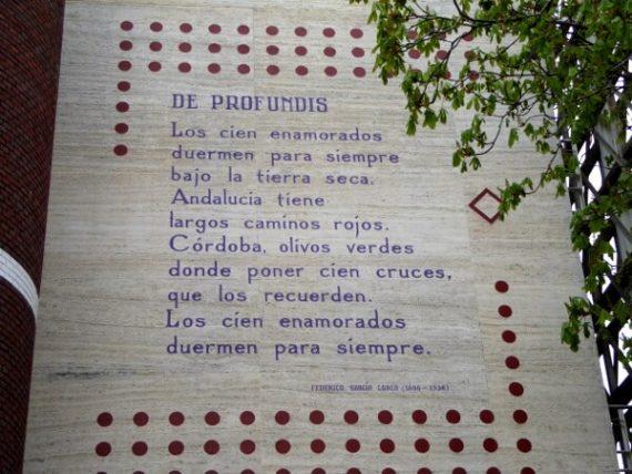 Gedichte an der Wand - eine Reise durch die Poesie der Welt 8