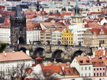 Verschneite Ostern in Prag 36