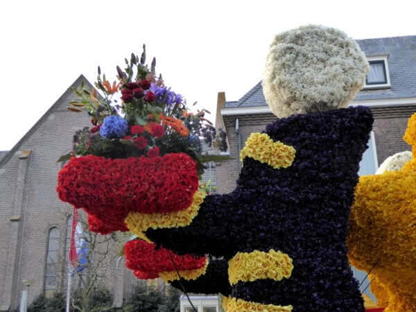 Praalwagen Blumenkorso Holland Bollenstreek noordwijkerhout