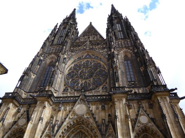 Prager Burg Veitsdom Kathedrale