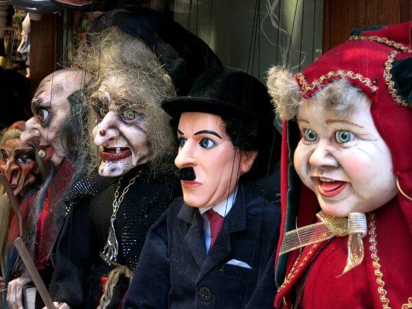 Puppen Tschechien Prag