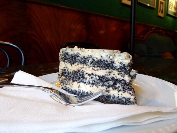 Tort makowy Mohnkuchen Torte Warschau