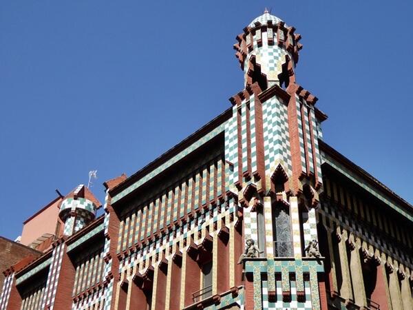 ecke casa vicens gracia barcelona