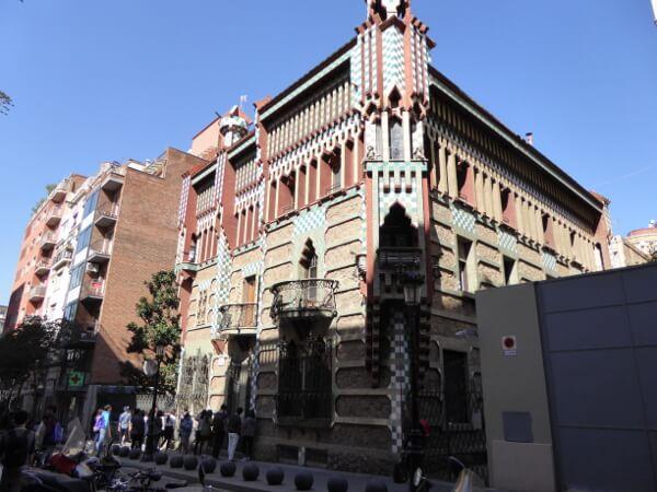 erweiterung Casa vicens Gaudi Serra de Martínez