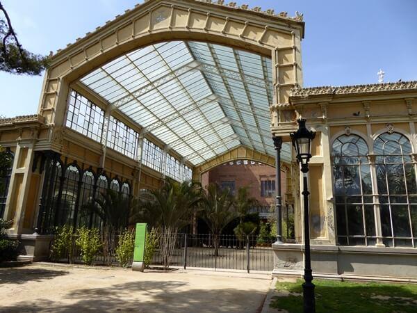parc ciutadella hivernacle barcelona
