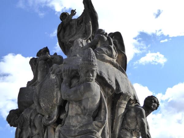 statuen Karlsbrücke Prag Franziskus Xaver
