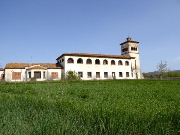 verlassene Anwesen Aiguamolls