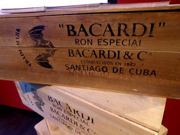 Bacardi Rum cuba
