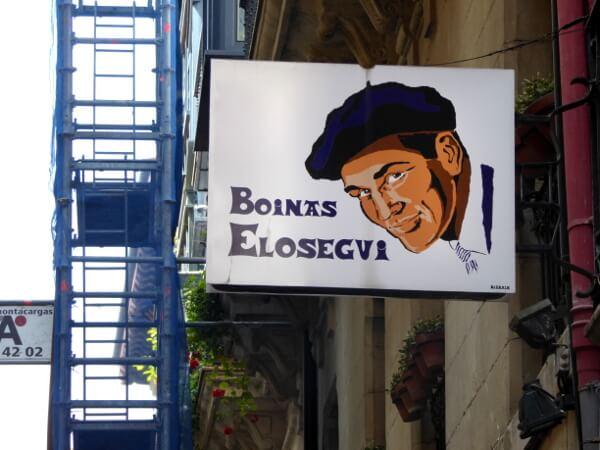 boinas baskenmütze laden im Casco viejo Bilbao