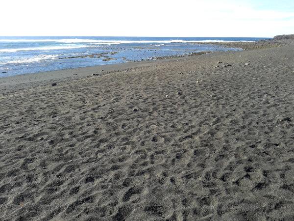 schwarzer Strand Lanzarote