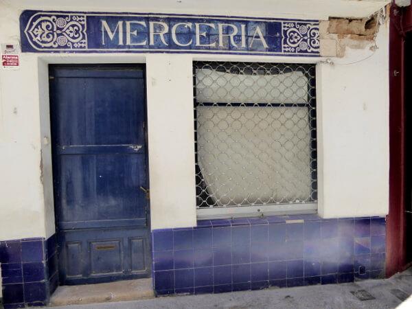 sitges merceria blau