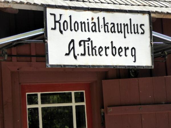 Antiker Laden Freilichtmuseum Tallinn