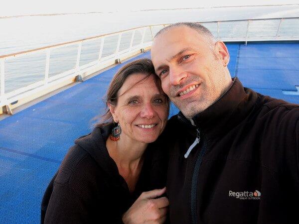 Citycruise an Bord der Fähre Tallink Silja Line
