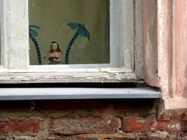 Fensterbank Suomenlinna Träume von Karibik