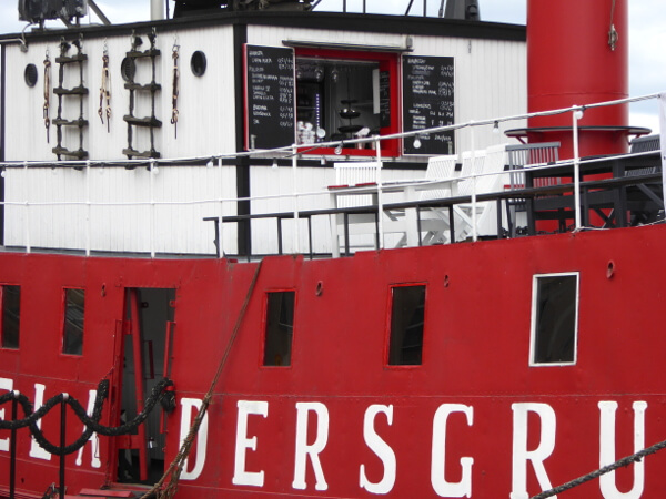 Helsinki Hafen Cafe Schiff