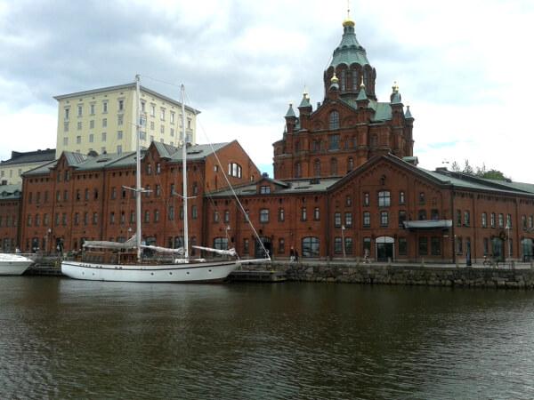 Helsinki Uspenski Kathedrale Hafen