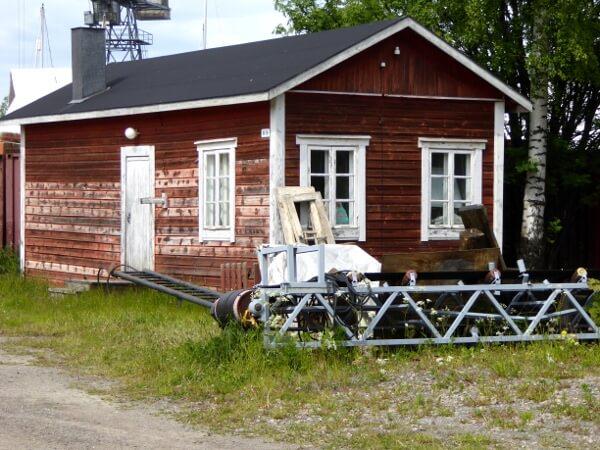 Holzhaus Suomenlinna