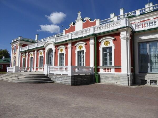Kunst museum Kadriorg Park Tallinn