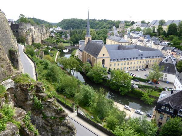 Luxemburg Altstadt UNESCO Welterbe
