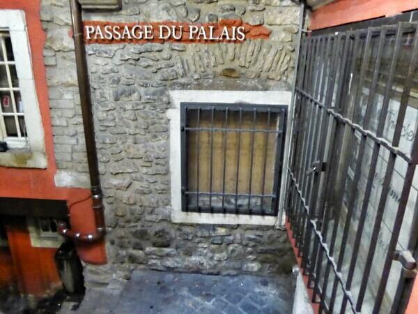 Luxemburg Altstadt passage