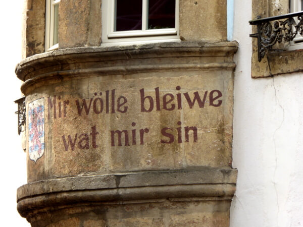 Luxemburg Motto