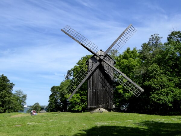 Mühle Estland Freilichtmuseum