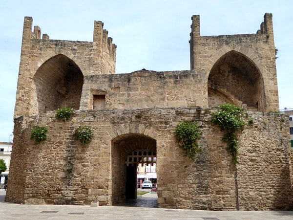 Mallorca mittelalterlich Alcudia
