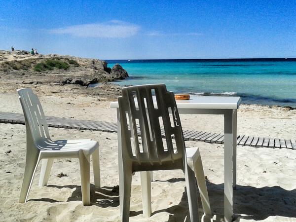 Strand zum hotel Mallorca