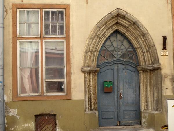 Tallinn Altstadt Haus Fenster