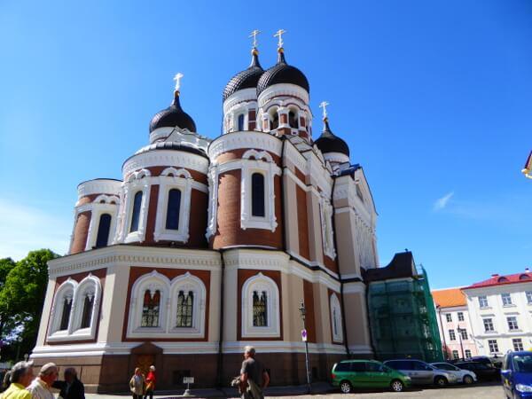 Tallinn Sehenswürdigkeiten Alexander Newski Kathedrale