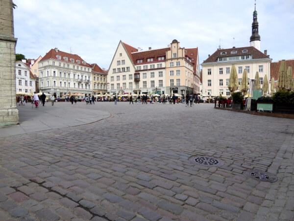 Tallinn Sehenswürdigkeiten Markt platz