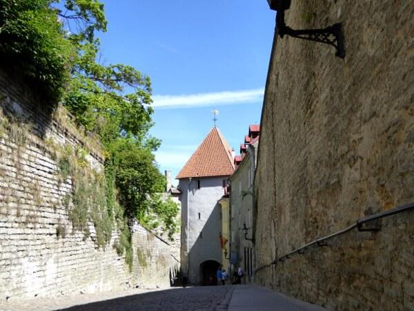Tallinn Sehenswürdigkeiten Weg zum Domberg
