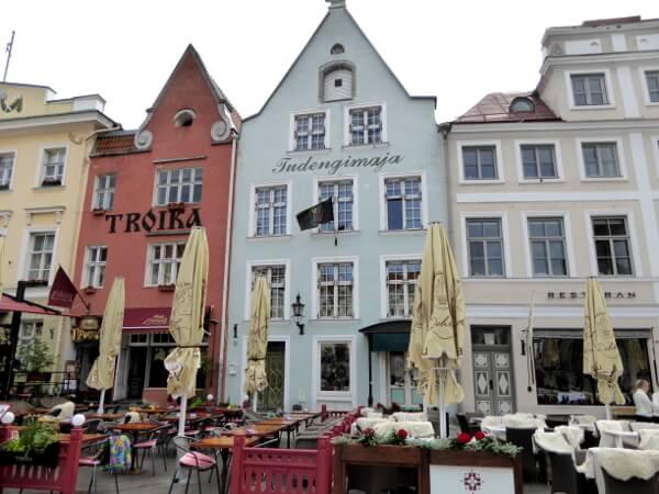 Tallinn Tipps Giebel Altstadt