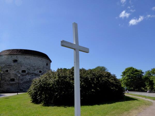 Tallinn dicke Margarete Estonia Denkmal