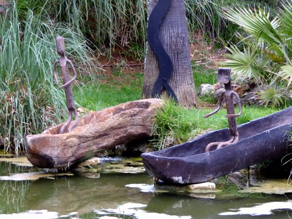 afrikanische Kunst es revellar Hotel Mallorca