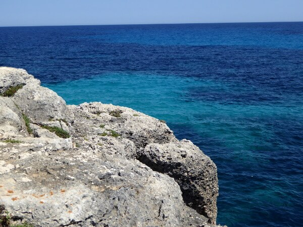 blaues meer montdrago mallorca