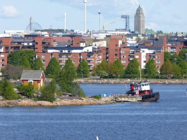 city cruise helsinki einfahrt Hafen