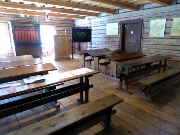 in der Schule Freilichtmuseum Tallinn