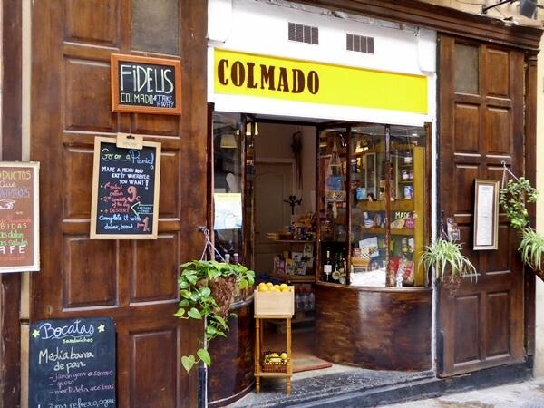 kleiner Laden Altstadt palma de mallorca