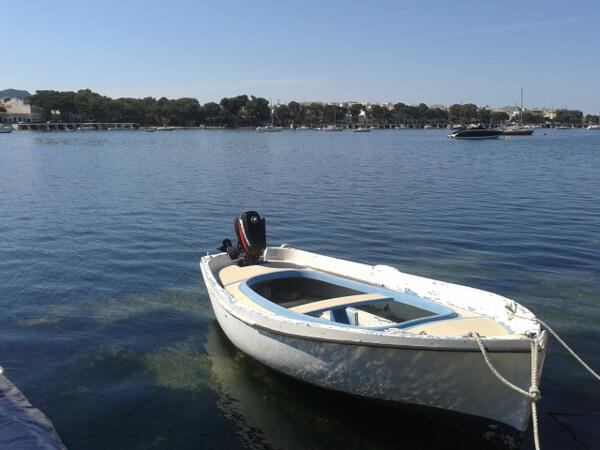 portocolom mallorca ein boot