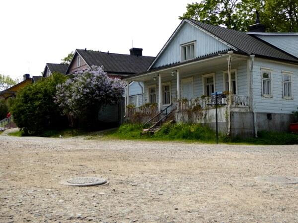 suomenlinna Fähre Ankuft Häuser